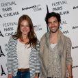Emilie Dequenne et Tahar Rahim lors du festival Paris Cinéma en juillet 2012