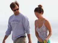 Olivia Wilde, au naturel, et Jason Sudeikis : Amoureux complices sur la plage