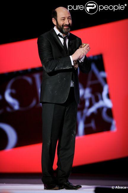 Kad Merad lors de la cérémonie des César 2012