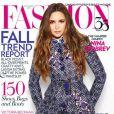 Nina Dobrev en couverture de Fashion Magazine du mois de septembre 2012
