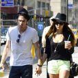 Nina Dobrev et son amoureux Ian Somerhalder lors d'une escapade à New York en mai 2012