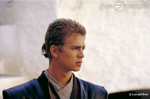 Hayden christensen dans star wars : episode 2 - l'attaque des clones