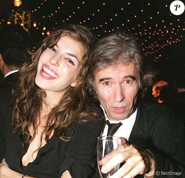 Lou Doillon et son père Jacques Doillon au Festival de Cannes, en mai 2001.