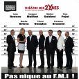 Pas Nique au FMI , une pièce humoristique présentée au théâtre des Deux-Ânes, d'octobre 2011 à Février 2012.