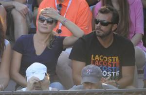 Mélanie Maudran : Fan enthousiaste au bras de son amoureux Thierry Ascione