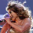 Jennifer Lopez mettait le feu à l'American Airlines Arena à Miami pour l'avant-dernier concert de sa tournée nord-américaine. Le 31 août 2012.