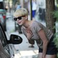 Michelle Williams à New York, le 31 août 2012.