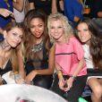Fanny, Ginie, Virginie et Capucine de Secret Story 6 au Duplex le vendredi 31 août 2012 à Paris