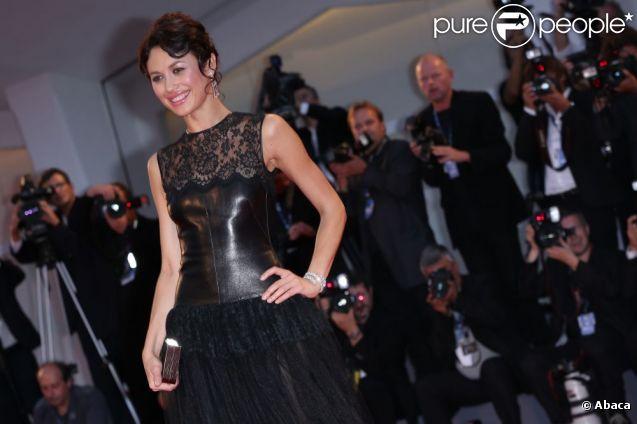 Olga Kurylenko lors de la présentation du film To the Wonder lors de la Mostra de Venise le 2 septembre 2012