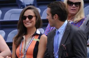 US Open : Pippa Middleton, stylée et sous le charme d'un beau jeune homme