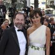 Ines de la Fressange et Denis Olivennes à Cannes, le 17 mai 2012.