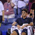 Roger Federer s'est incliné en quart de finale de l'US Open face à Thomas Berdych à New York le 5 septembre 2012