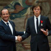 Paul McCartney : Epinglé par François Hollande, un bel hommage devant sa famille