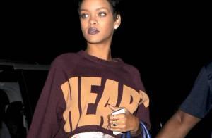Rihanna : Une coupe courte, un retour au boulot et un nouveau gros tatouage ?