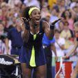 Serena Williams a décroché son quatrième US Open et son quinzième Grand Chelem en venant à bout de Victoria Azarenka en finale de l'US Open le 9 septembre 2012