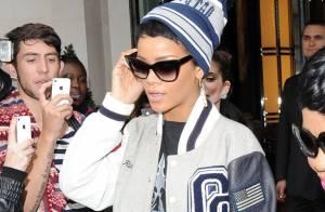 Rihanna quitte Londres avec son nouveau tatouage