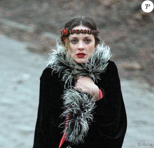 Marion Cotillard incarne une prostituée polonaise dans Nightingale de James Gray, avec aussi Joaquin Phoenix et Jeremy Renner. Ici à New York en janvier 2012.