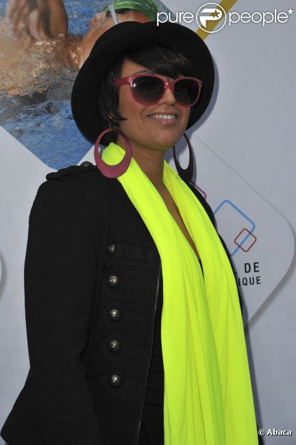 La chanteuse Lââm, en juin 2012 à Paris.
