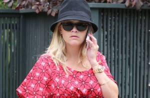 Reese Witherspoon, très enceinte : Energique à quelques jours de l'accouchement