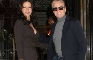 Fashion Week : Catherine Zeta-Jones et Michael Douglas, amoureux au premier rang