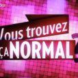 Bruce Toussaint présente  Vous trouvez ça normal !?  sur France 2, tous les vendredis.