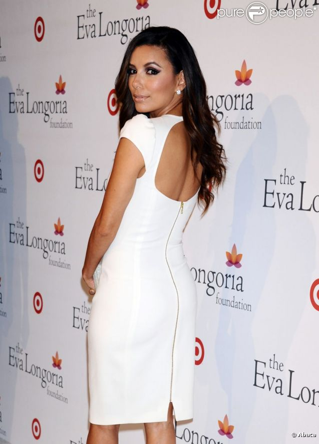 Eva Longoria au dîner donné par The Eva Longoria Foundation à l'occasion des ALMA Awards. Los Angeles, le 15 septembre 2012