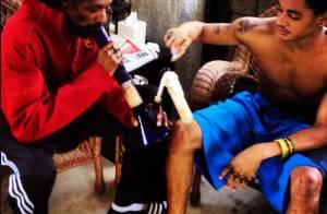 Snoop Dogg se drogue avec son fils : Les photos qui font scandale