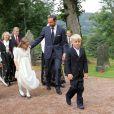 Marius Borg Hoiby, fils aîné de la princesse Mette-Marit né d'une précédente relation, effectuait le 2 septembre sa confirmation à l'église d'Asker, à Oslo, en présence de sa mère, du prince Haakon, de la princesse Ingrid, du prince Sverre, du roi Harald V, de la reine Sonja et de Marit Tjessem, sa grand-mère maternelle.