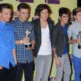 One Direction à Los Angeles, le 6 septembre 2012.