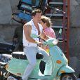 Mark Wahlberg tourne une scène de la comédie  Pain and Gain  de Michael Bay, à Miami le 16 avril 2012.