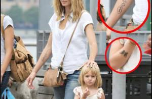 PHOTOS : La fille d'Heidi Klum, tatouée comme maman !