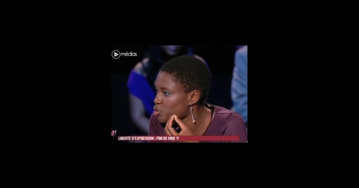 Rokhaya diallo sur le plateau de vous trouvez a normal sur france 2 - France 5 ca vous ...