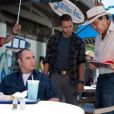 Oliver Stone sur le tournage de  Savages.