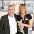 Michel et Réjane Lacoste lors des Spirit Awards à Santa Monica. Février 2009.