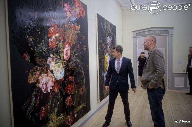 Książę Frederik Danii zainaugurowany 27 września 2012 Art Award Carnegia wystawa w Muzeum w Kopenhadze Sophienholm.