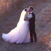 Anne Hathaway : Premières photos de son mariage au coucher de soleil