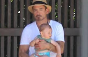 Robert Downey Jr. : Toujours blessé, il se console avec son adorable fils