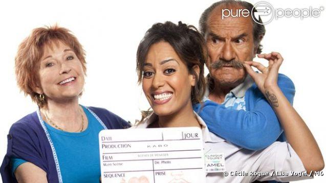 Les premières images de Scènes de Ménages, le prime time, avec Amel Bent diffusé le 8 octobre 2012 sur M6