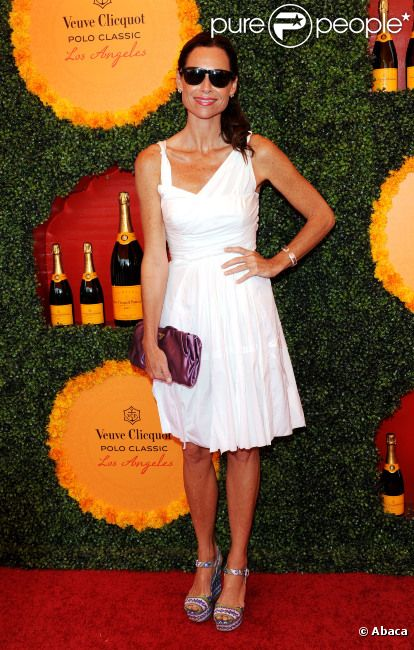 Minnie Driver lors du 3e Veuve Clicquot Polo Classic, le 6 octobre 2012 à Los Angeles