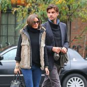 Olivia Palermo et son boyfriend so chic dans les rues de New York