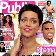 La couverture du magazine  Public  sorti le 12 octobre 2012.