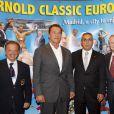Arnold Schwarzenegger lors de la promotion de son livre  Total Recall , le 11 octobre à Madrid.