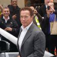 Arnold Schwarzenegger à Londres, le 15 octobre 2012.
