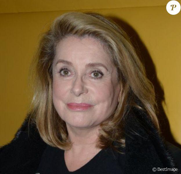Catherine Deneuve présente pour célèbrer l'ouverture du St. Regis Mauritius, à Paris le 15/10/2012.