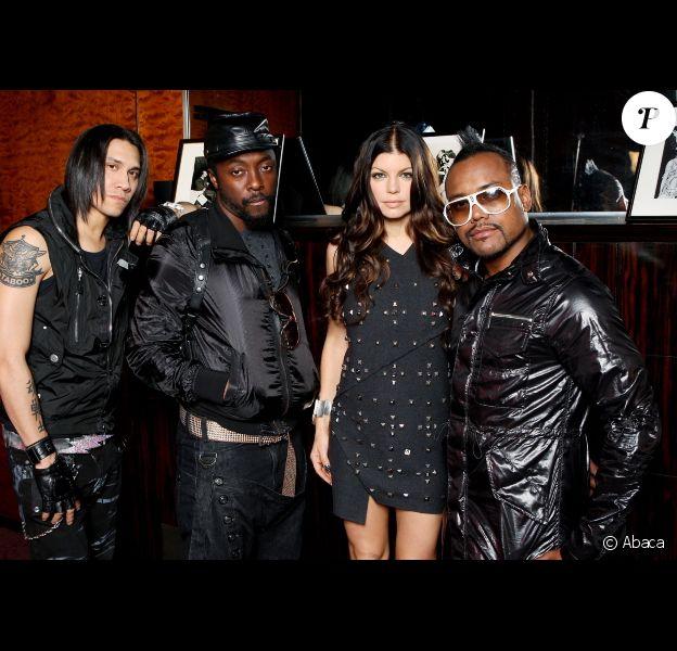 Les Black Eyed Peas, en juin 2009 à New York.