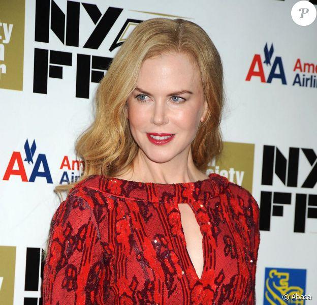 Nicole Kidman le 3 octobre 2012 à New York