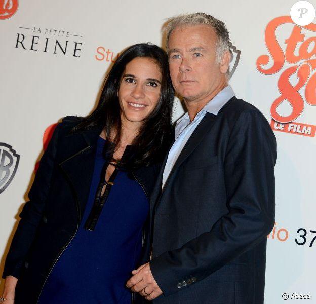 Danièle et Franck Dubosc à l'avant-première de Stars 80 à Paris, le 19 octobre 2012.