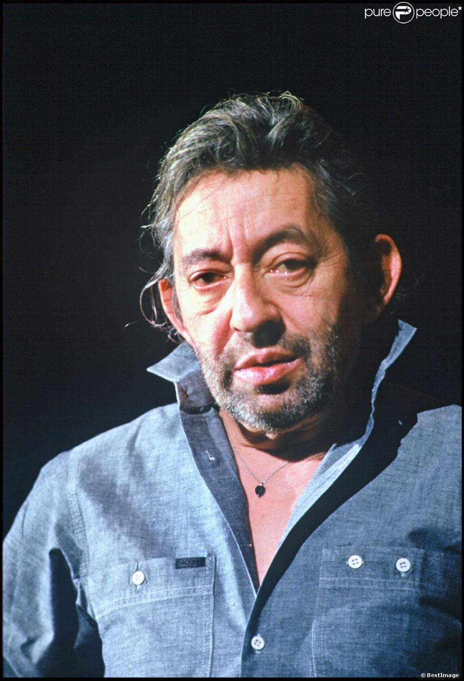 serge gainsbourg ses effets souvenirs aux ench res purepeople. Black Bedroom Furniture Sets. Home Design Ideas