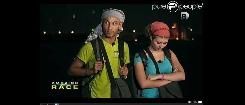 Antoine et Héléna éliminés - Amazing Race, lundi 22 octobre 2012 sur D8