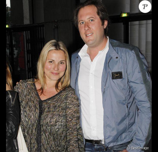 EXCLU : Sophie Favier et son compagnon Bruno Proost à l'anniversaire des 40 ans de la montre 'Royal Oak' de la marque Audemars Piguet au Palais de Tokyo, à Paris le 5 juin 2012